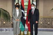 في لقاء مع بوريطة.. وزيرة الخارجية الليبية تدعو لإعادة فتح السفارة المغربية بطرابلس