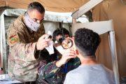 تواصل مناورات ''الأسد الإفريقي 2021'' وسط تقديم خدمات طبية مجانية لمواطنين