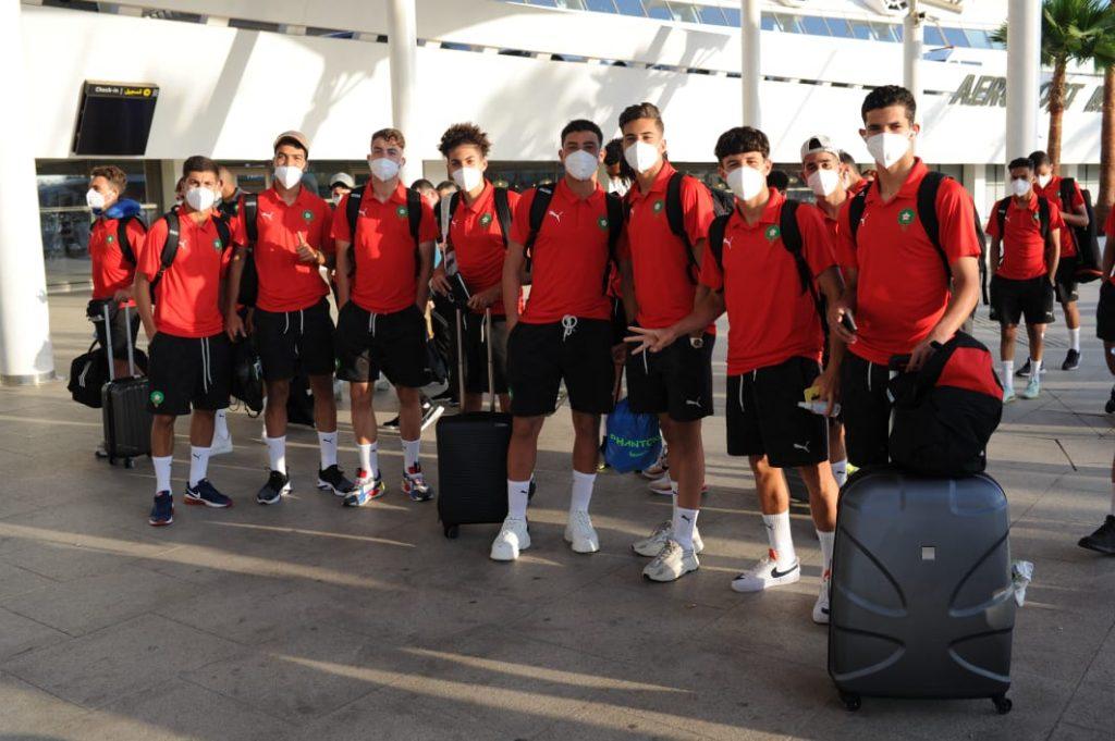 أشبال الأطلس يتوجهون لمصر للمشاركة في البطولة العربية