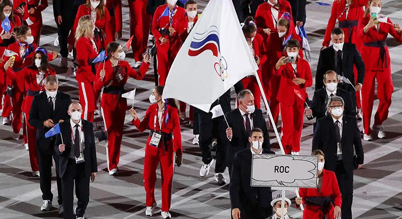 سر اختفاء علم روسيا من الأولمبياد واستخدامها علم اللجنة الأولمبية