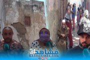 بالفيديو.. خطير.. هلع وسط سكان المدينة القديمة بسبب هدم منازل آيلة للسقوط