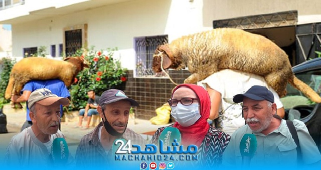 بالفيديو.. عيد الأضحى.. مواطنون يثورون في وجه مشاهير يصورون لحظة تصدقهم بالاضحية  لأسر معوزة