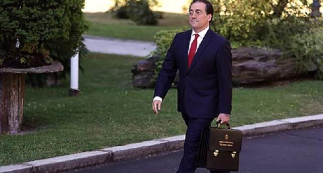 وزير الخارجية الإسباني يعطي تعليمات لفريقه لإنهاء الأزمة مع المغرب