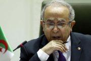 مباشرة بعد تعيينه.. وزير الخارجية الجزائري