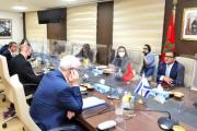 مشاورات سياسية في الرباط بين المغرب وإسرائيل