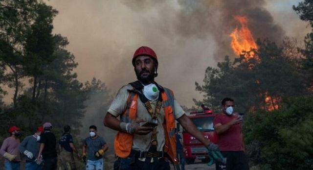 إثر حرائق الغابات.. المغاربة يتضامنون مع الشعب الجزائري