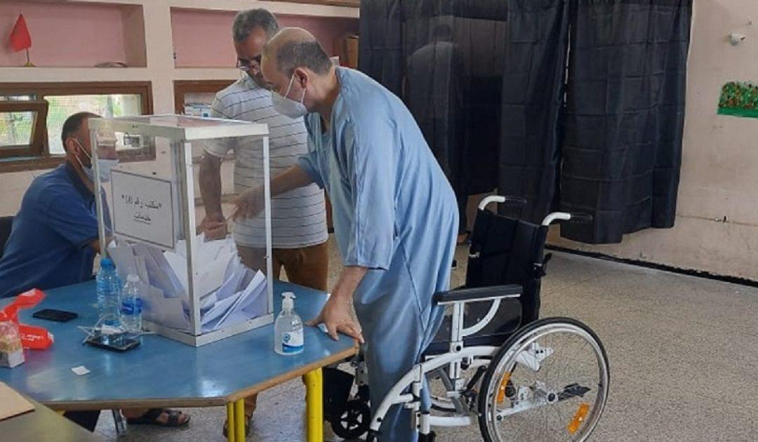 تقرير: 120 شخصا في وضعية إعاقة ترشحوا لانتخابات 8 شتنبر