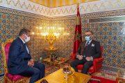 الملك محمد السادس يستقبل عزيز أخنوش ويعينه رئيسا للحكومة الجديدة