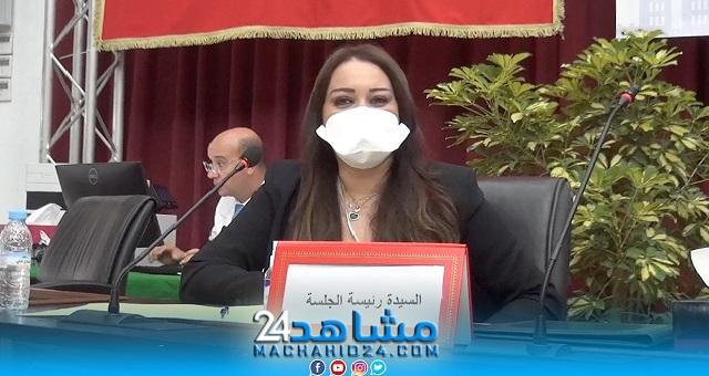 بالفيديو.. بعد توليها عمودية البيضاء.. نبيلة الرميلي ترفع برقية ولاء وإخلاص إلى الملك محمد السادس