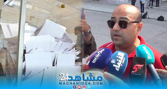 بالفيديو.. مواطن يحتج على الانتخابات: