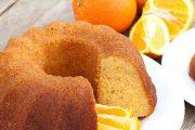 كيكة البرتقال ببيضتين فقط