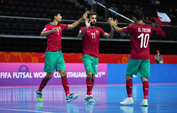 كأس العالم لكرة القدم داخل القاعة.. المنتخب المغربي يتفوق على جزر سليمان