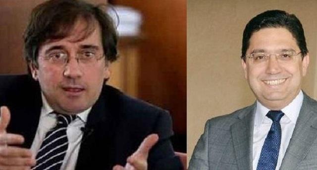 وزير الخارجية الإسباني.. هناك