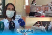 بالفيديو.. منيب تصرح بعد تصويتها: شاركوا في لحظة تاريخية للمغرب واختاروا الأنسب