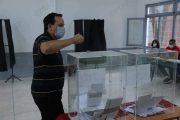 بالرباط.. عملية التصويت تتواصل في احترام تام لتدابير كورونا (صور)