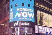 ألوان العلامة الاقتصادية الجديدة للمغرب تتألق في أشهر ساحة بنيويورك